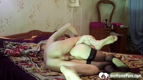 Hot stepdaughter in stockings gets shafted hard Thumb