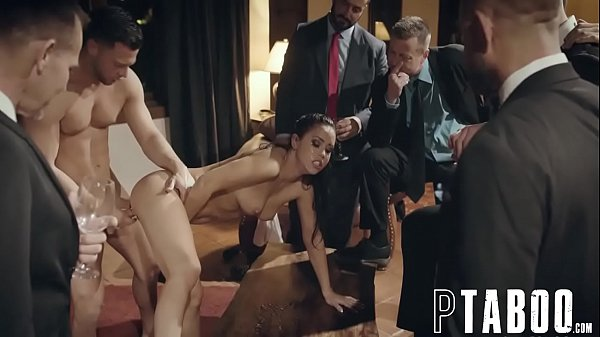 Rowdy Businessman Taunt And Humiliate Escort Alina Lopez During Public Fucking