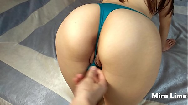 Young girl loves fuck through panties