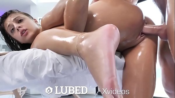LUBED Slippery Bouncing Booty Fucked By Big Dick Thumb