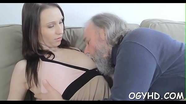 Cute juvenile gal fucked by old boy Thumb