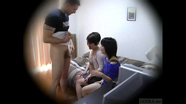Subtitled Japanese homestay gone wrong CFNM blowjob Thumb