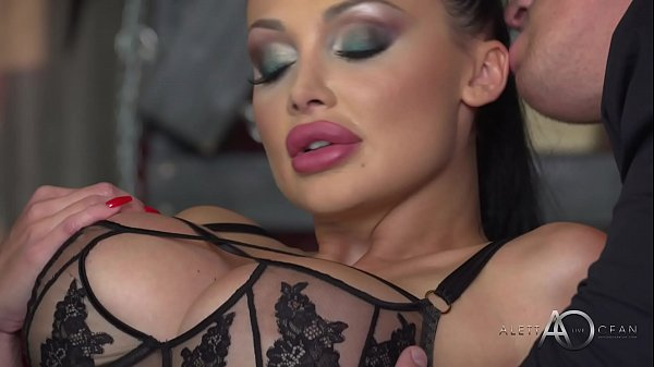 Aletta Ocean - Black Leather Double Pleasure - alettAOceanLive
