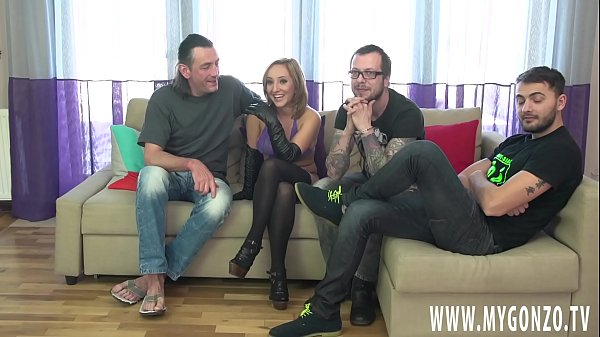 Young Busty Teen Girl Kami Karol Gets In A Group Bust Rough Gangbang Action With Dieter Von Stein To Perform Some Sloppy Blowjobs And Hard Fucking (Incl. Interviews)