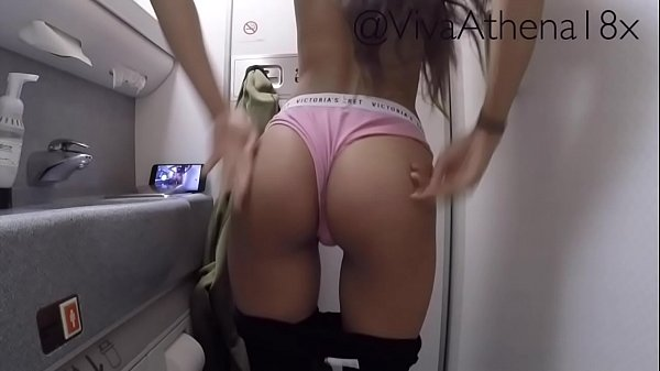 PETITE COLLEGE TEEN MASTURBATES ON PLANE