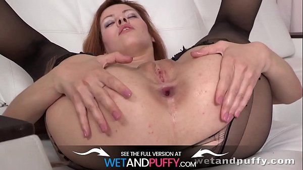 Ripped Stockings - Solo Anal and More Thumb