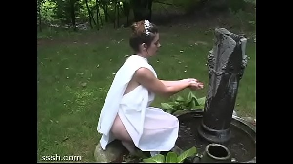 Fantasy For Brunette And Bald Lover Outdoors In Greek Roleplay Thumb