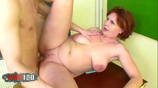 Old bitch fucked her student in classroom