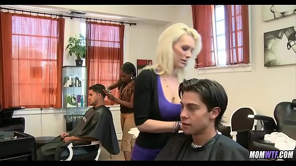 Gorgeous Blonde Hairdresser MILF