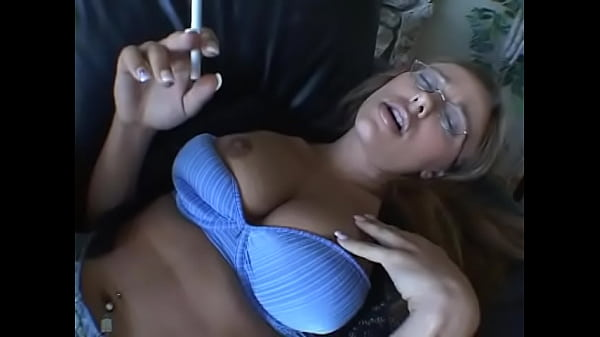 Young blonde chick Tiana Lynn hawks her pearlie and likes to bring her spepdad to wit s' end; smoking in the living room overtaxed his patience and he had to take stern measures