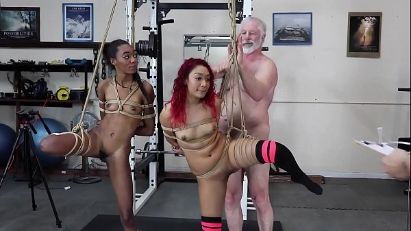 Sarah Lace / Chanel Skye Hard Bondage Naked Girls Petite Small Tits Black Latina Thumb