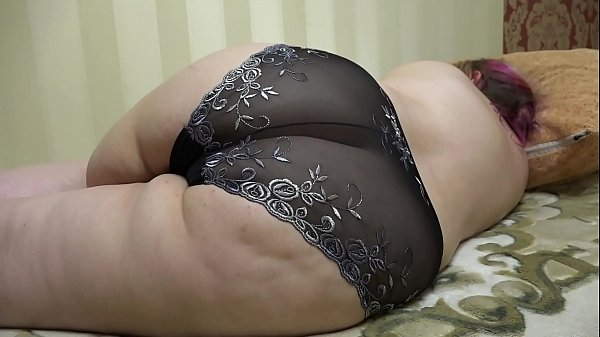 Her pantyhose in front of