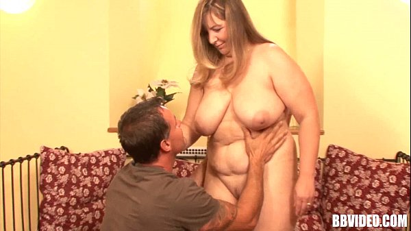 Big breasted fat german wench riding cock