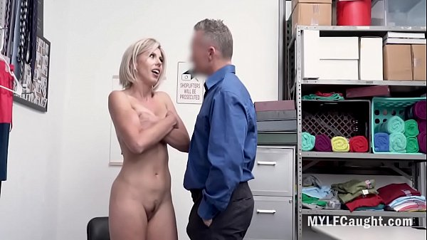 Blonde MILF Fucked By Horny Cop- Amber Chase