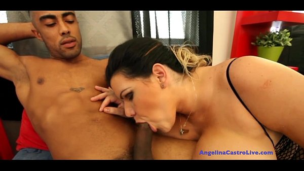 Angelina Castro Gets Mouth FULL of CUM! Thumb