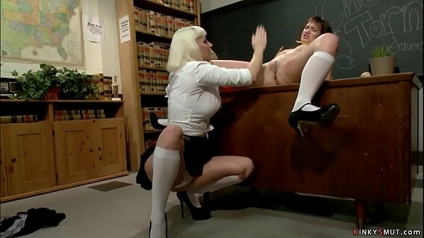 Student spanked and ass whipped