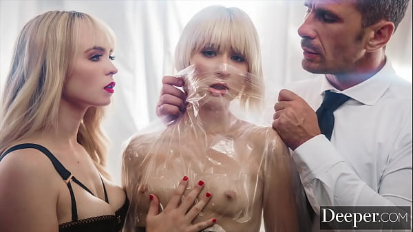 Deeper. Jessie & Lilly have a twisted quarantine threesome