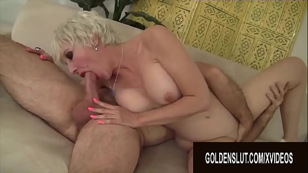 Golden Slut - Busty Aunties Perform Oral Sex Compilation