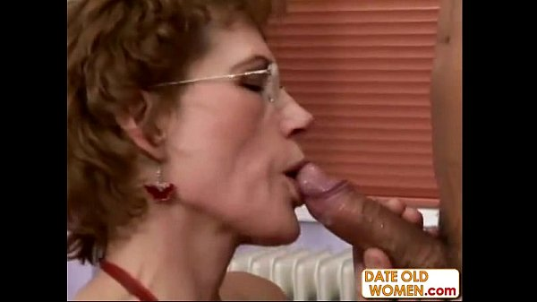 Fine Older Woman and y. Student