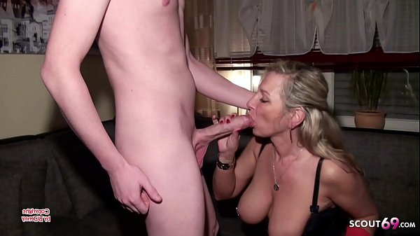 German Mom Fuck Monster Cock Young Friend of Daugther