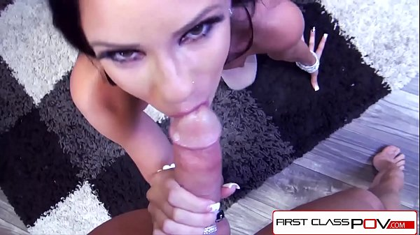 FirstClassPOV - Raven Bay take a monster cock in her throat, big boobs