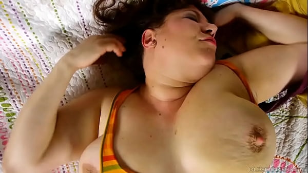 Mature BBW talks dirty about first threesome while fucking her wet pussy
