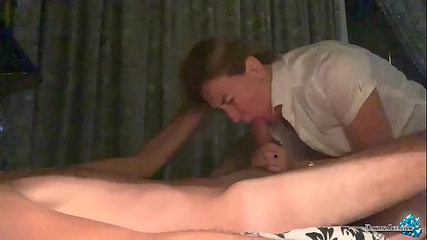 Girl with Tattoo on Ass Fucking and Sucking Cock - Cum in Mouth Thumb