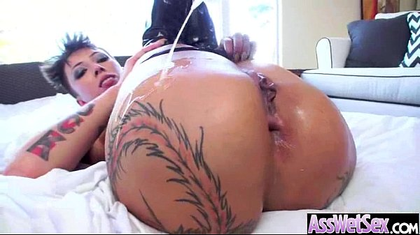 bella bellz) Superb Girl With Huge Oiled Butt Take It Deep In Her Ass vid-08