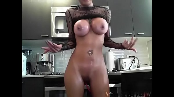 Hot Blonde Loves Playing With Her Toys