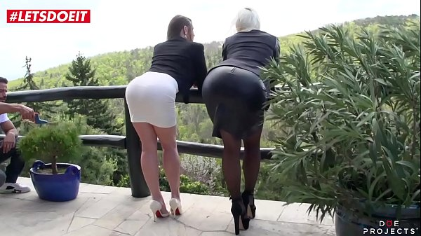 LETSDOEIT - Horny Teens Gang banged Hardcore By Big Cock Studs (Cathy Heaven & Vittoria Dolce) Thumb
