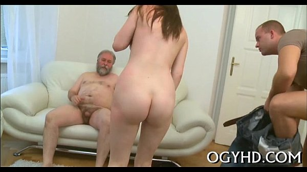 Olf fart fucks face aperture of a young gal