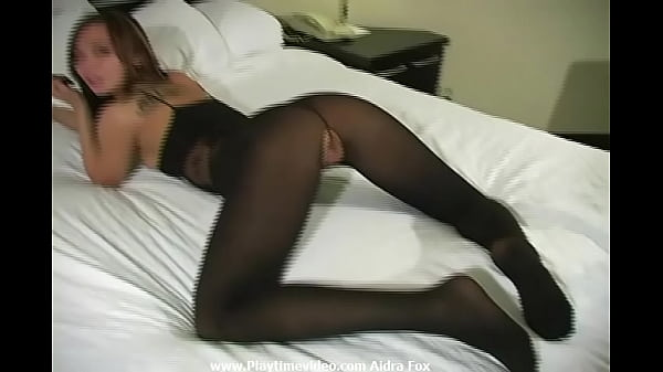 """Aidra Fox 18 12 months Outdated Pure Sexual Power Siren on Video Jerk Off Encouragement Black Nylon Bodystocking! """"You need to cum on my little pussy? Go forward!"""""""