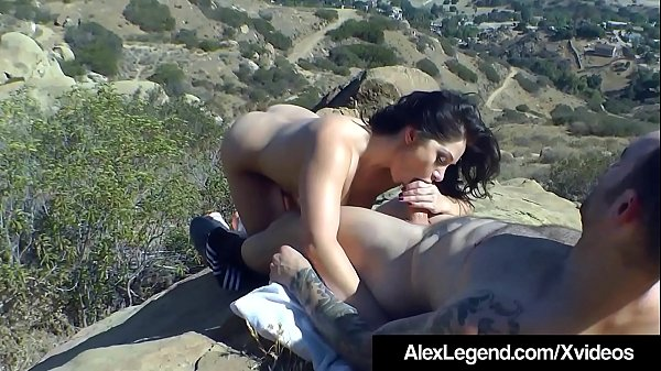 Fat Dick Alex Legend Fucks Lea Lexis While Hiking The Hills!