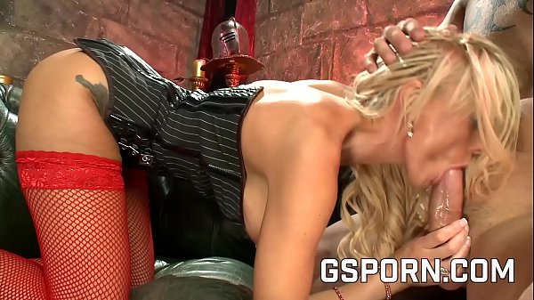 The busty blonde Stacey Saran like fuck in sexy lingerie Thumb