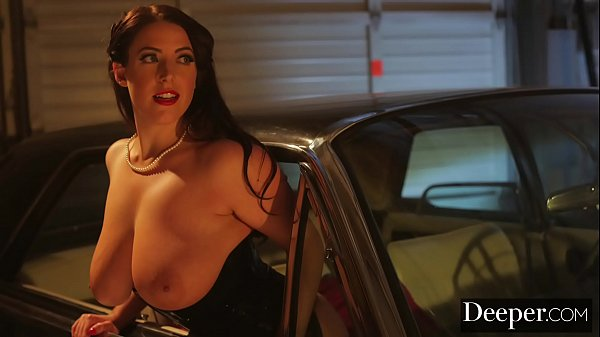 Deeper. Angela White Lures Each Man In to Take ...