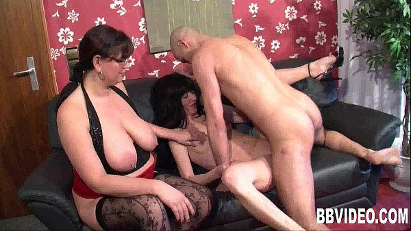 MILF german whores sharing a large cock