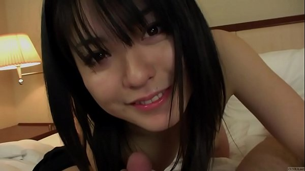 Subtitled uncensored pale Japanese amateur blow...
