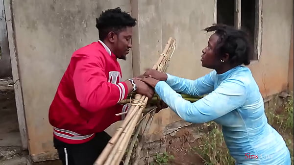 A blind woman went to fetch some firewood in the bush, a village prince came to help her then took her home for a nice fuck Thumb
