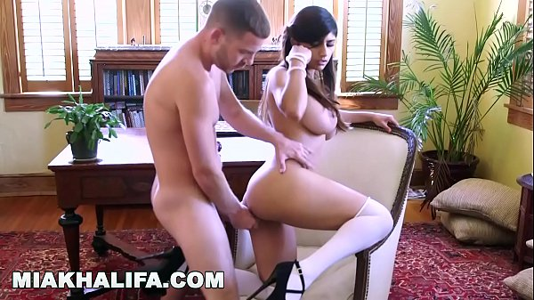 MIA KHALIFA - Fucking Tony Rubino In The Study ...