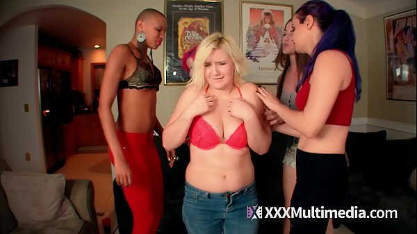 4 Hot Girls Humiliate Fifi Foxx