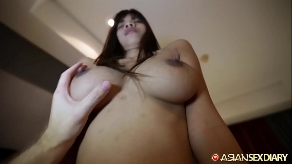 ASIANSEXDIARY Busty Asian Babe Fucked Doggystyl...