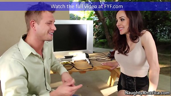 Naughty America Brunette Cytherea fucking in th...