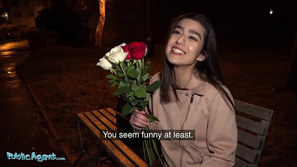 Public Agent Aaeysha gets fucked on Valentines ...