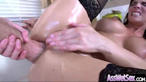 Amazing Anal Sex On Cam With Big Ass Oiled Girl (syren de mer) video-30