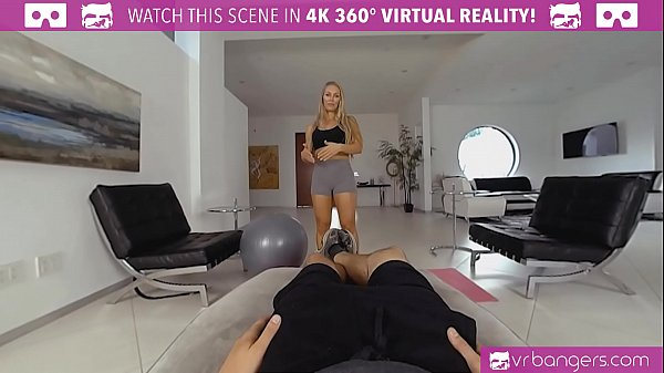 VRBangers.com Nicole Aniston Personal Trainer Gets Fucked Hard and Deep Throats