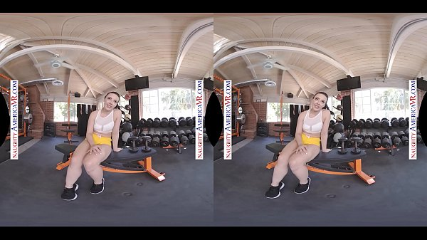 Naughty America - Whitney Wright shows you her 2 skills Boxing and FUCKING!!!