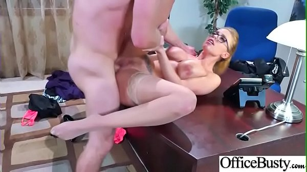 Hard Sex Tape In Office With Naughty Busty Hot Girl (Britney Amber) video-06