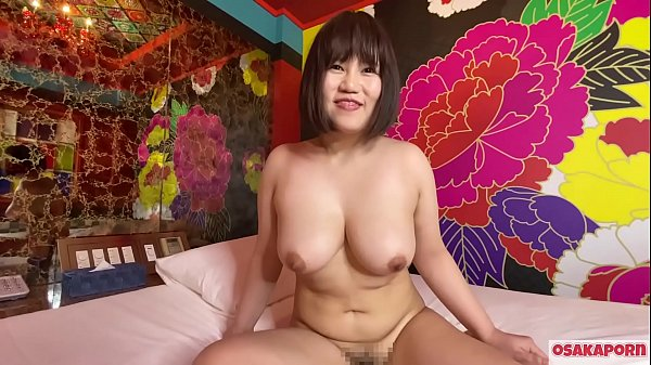 Japanese cute girl with big boobs masturbates with sex toys and gets orgasm. She enjoys blowjob with huge tits and hairy pussy moan loudly. BBW chubby Osakaporn
