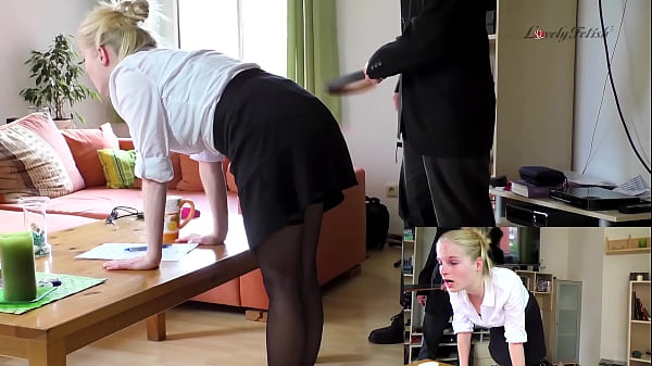 Clip 25Lil Secretary Spanked - Full Version Sal...