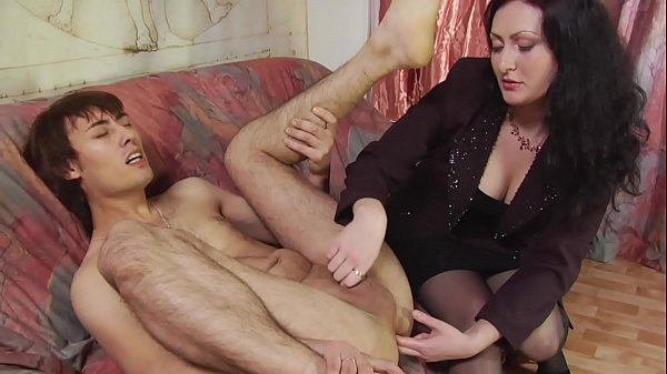 Deflowered By Strap-on Thumb